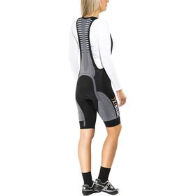 X-Bionic The Trick Biking Bib Tights Short Damen black/white